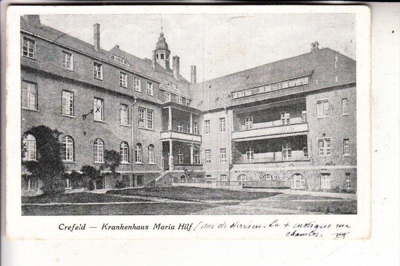 4150 KREFELD, Krankenhaus Maria Hilf, 1923