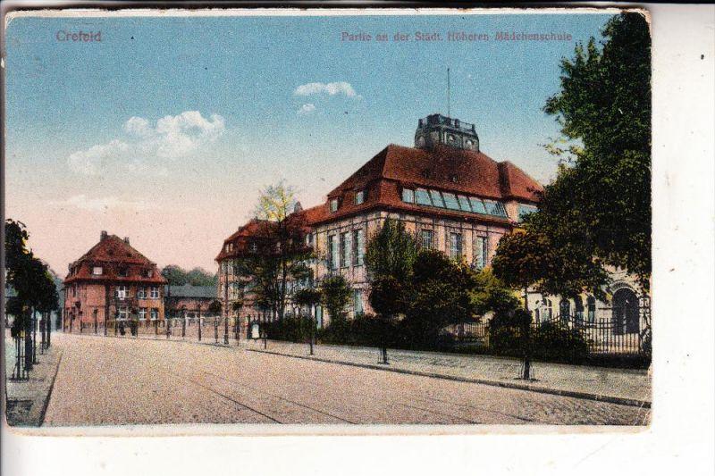 4150 KREFELD, Städt. Höhere Mädchenschule, 1920