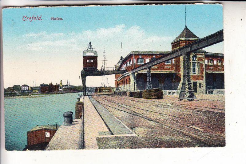 4150 KREFELD, Hafen, 1924
