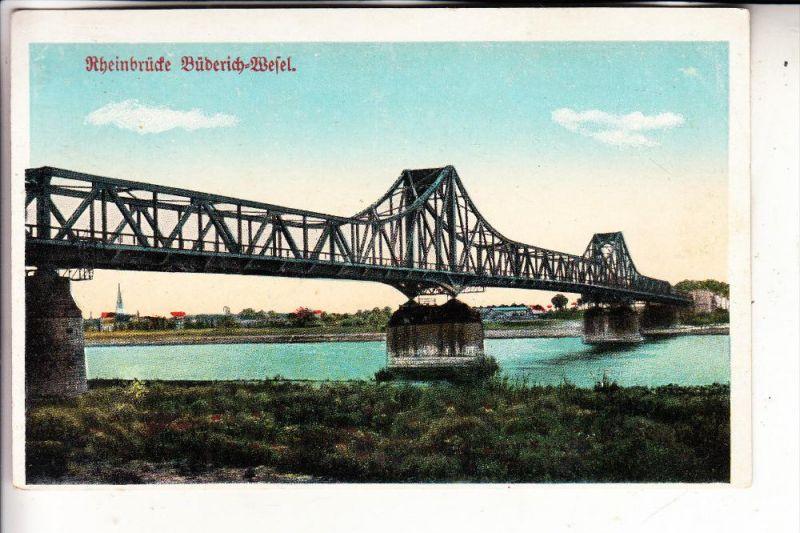 4230 WESEL, Rheinbrücke Büderich - Wesel