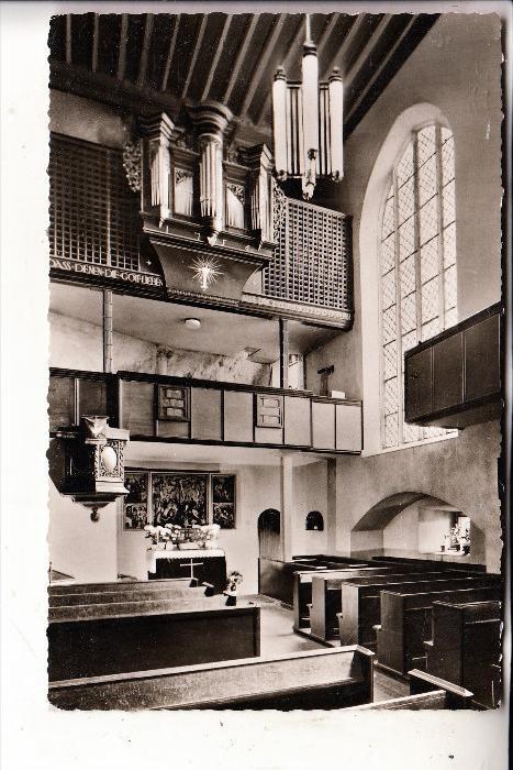 6580 IDAR-OBERSTEIN, Felsenkirche, Kirchenorgel