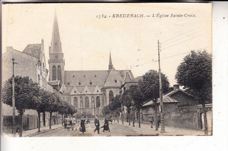6550 BAD KREUZNACH, Heilig Kreuz Kirche, 1927