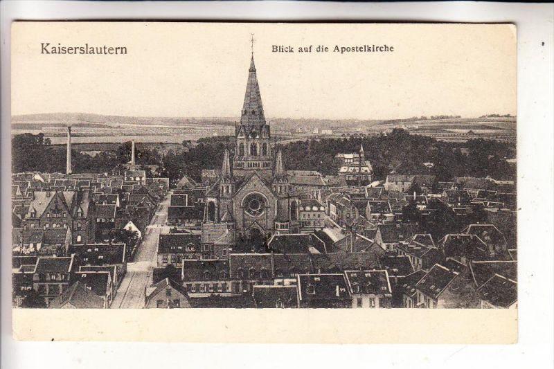 6750 KAISERSLAUTERN, Agneskirche & Umgebung