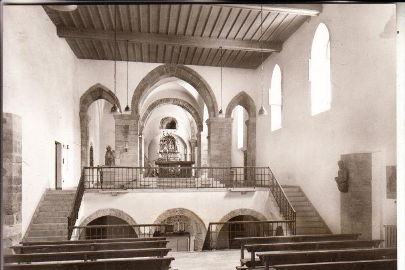 CH 7000 CHUR, St. Luzi, Innenansicht