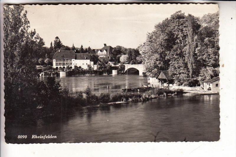 CH 4310 RHEINFELDEN, Rheinansicht, 1948