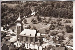 5042 ERFTSTADT - GYMNICH, Kirche, Luftaufnahme, kl. Knick
