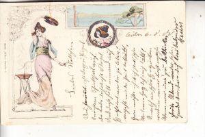 JUGENSTIL - ART NOUVEAU - Serie Klio, 1900