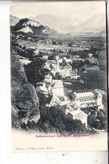 CH 7405 ROTHENBRUNN, Ortsansicht, 1906