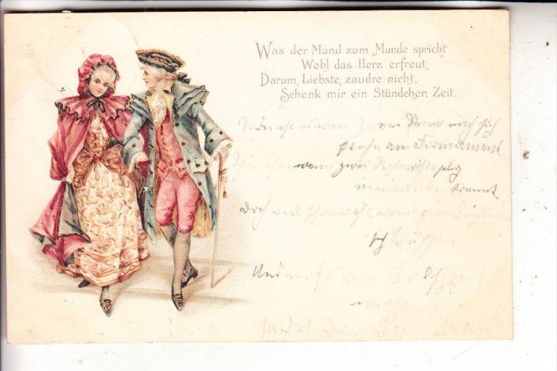 MODE - Kleidung, Liebe, Romantik, 1900
