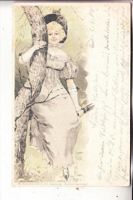 MODE - Kleidung, Romantik, 1900, Verlag: Kimmelstiel-Hamburg