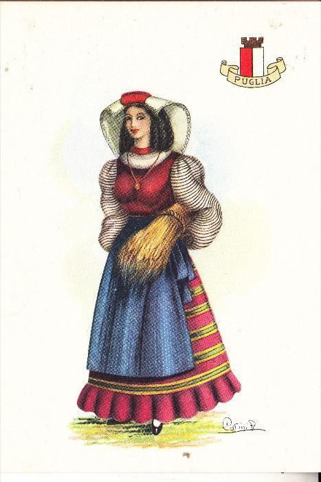 ITALIA / ITALIEN - PUGLIA, Costume / Trachten