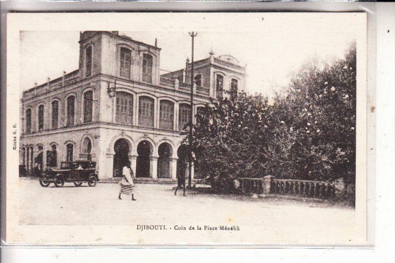 DSCHIBUTI / DJIBOUTI - Coin de la Place Menelik