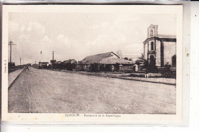 DSCHIBUTI / DJIBOUTI - Boulevard de la Republique