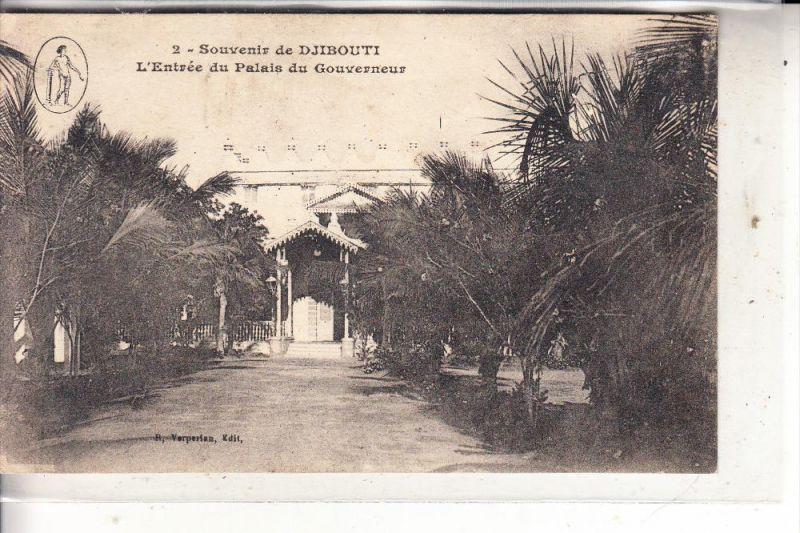 DSCHIBUTI / DJIBOUTI - Palais du Gouverneur