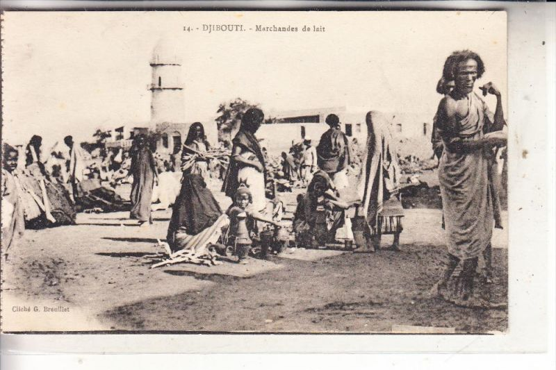 DSCHIBUTI / DJIBOUTI - Marchandes de lait
