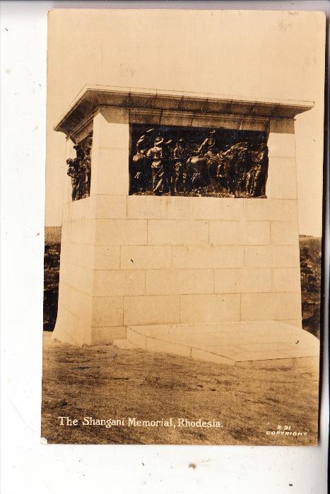 RHODESIA / SIMBABWE, Shangani Memorial, 192...