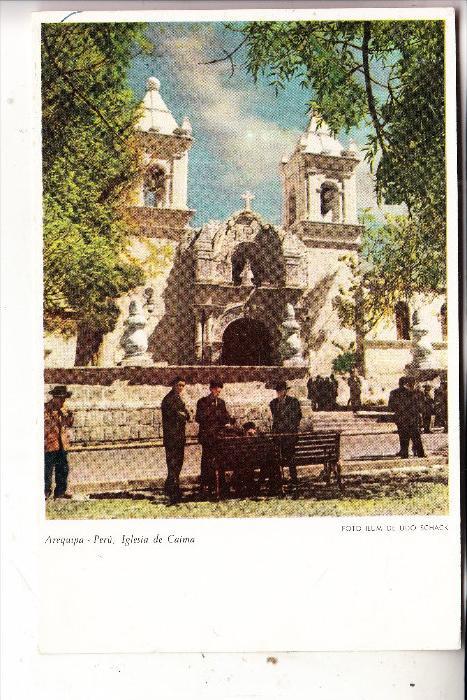 PERU - AREQUIPA, Iglesia de Caima
