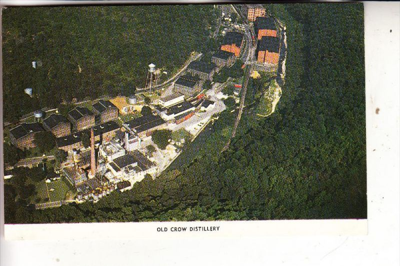 USA - KENTUCKY - FRANKFORT, Old Crow Whiskey Distillery, air view