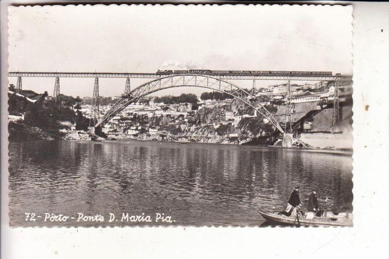 P 4000 PORTO, Ponto D. Maria Pia, Eisenbahn-Brücke, Railway bridge