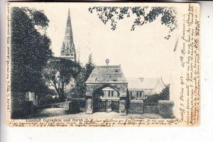 UK - WALES - SOUTH GLAMORGAN, LLANDAFF, Cathedral & Porch, 1903