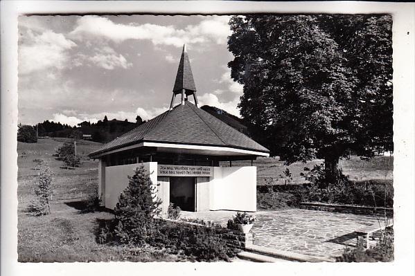 CH 3793 AESCHI - AESCHIRIED, Lobpreiskapelle