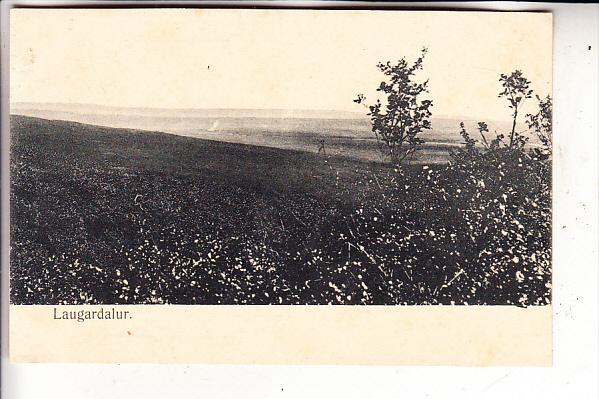 ISLAND - LAUGARDALUR, ca. 1900