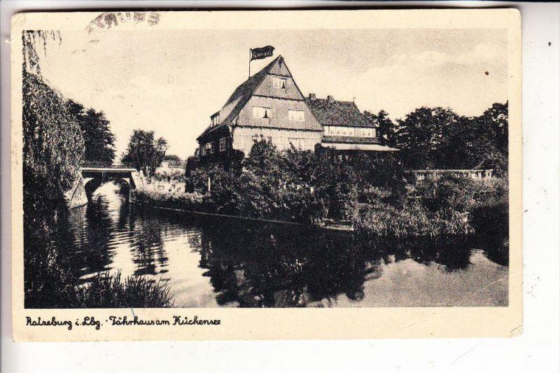 2418 RATZEBURG, Fährhaus am Küchensee, 1943