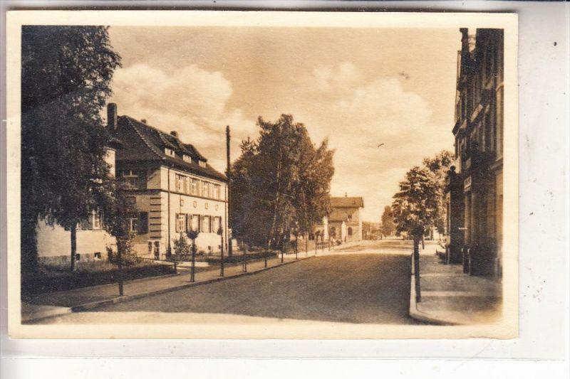 0-7232 BAD LAUSICK, Bahnhofstrasse, 1951