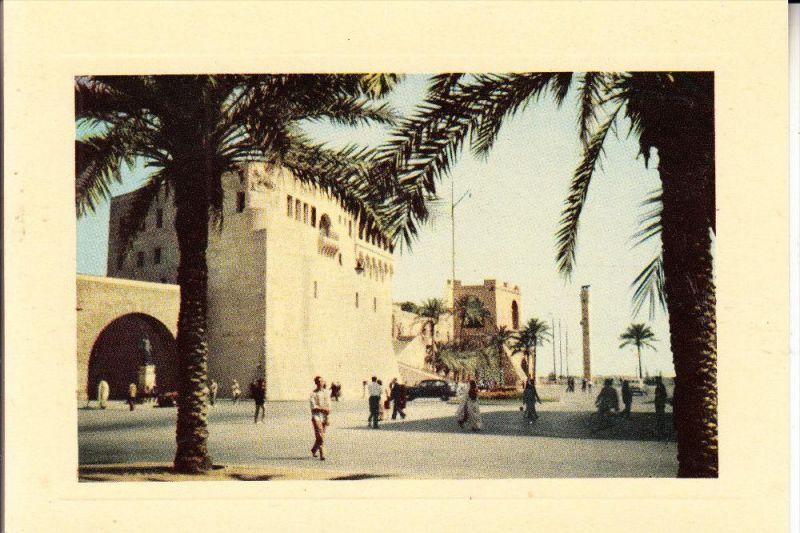 LIBYEN - TRIPOLI, Castle Square