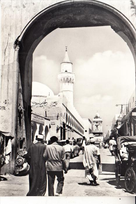 LIBYEN - TRIPOLI, Suk al Muscir