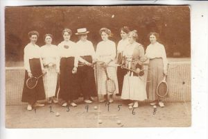 SPORT - TENNIS - Damen / Ladies / Dames, 1920, Photo-AK