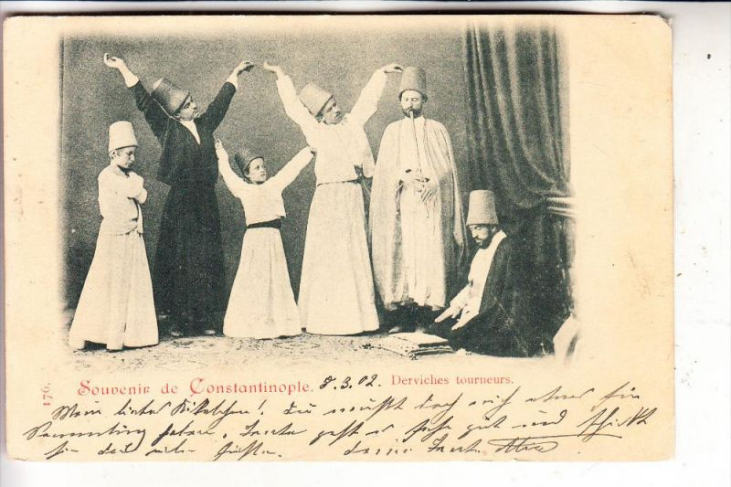 TÜRKEI - Derviches Tourneur, 1902