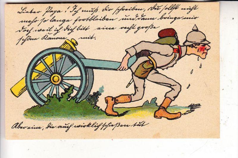 MILITÄR - Humor, Artillerie