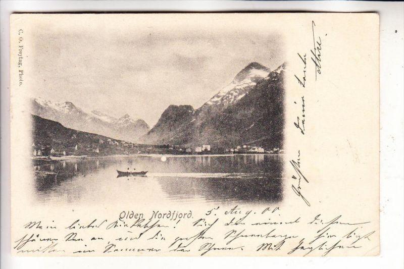 NORGE / NORWEGEN, STRYN - OLDEN, Nordfjord, 1900