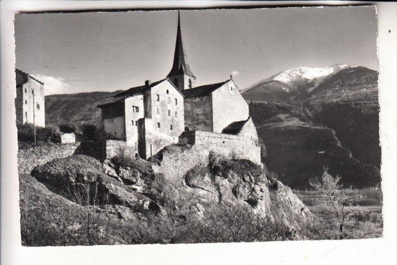 CH 3942 RARON, Pfarrhaus & Kirche