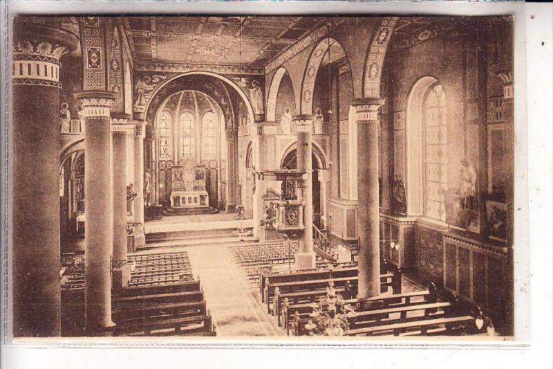 4230 WESEL - BÜDERICH, Kath. Kirche, Inneres, 1925