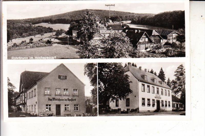 6442 ROTENBURG an der Fulda, Panorama, 1961