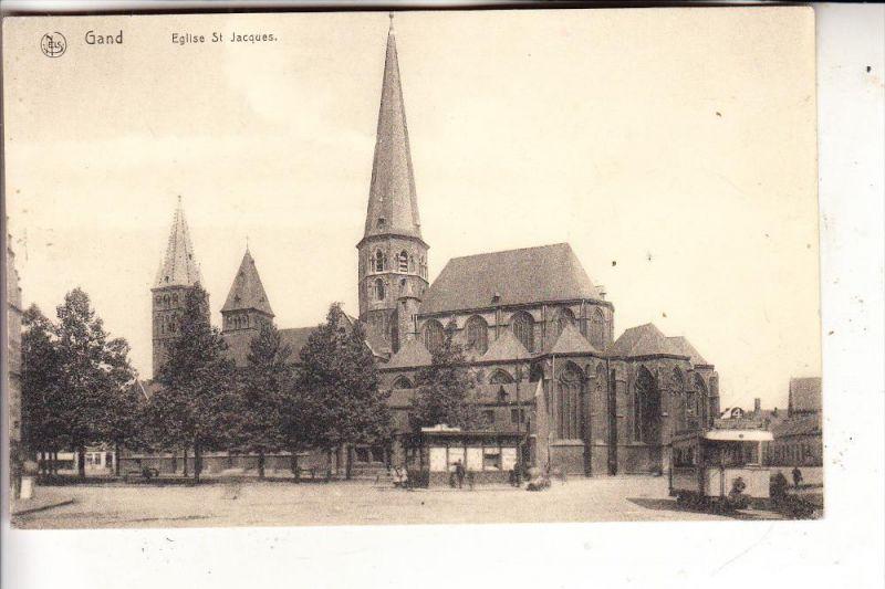 B 9000 GENT, Eglise St. Jacques, Tram, Nels Serie 3, Nr. 39