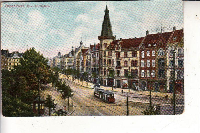 4000 DÜSSELDORF, Graf Adolfplatz, Strassenbahn / Tram