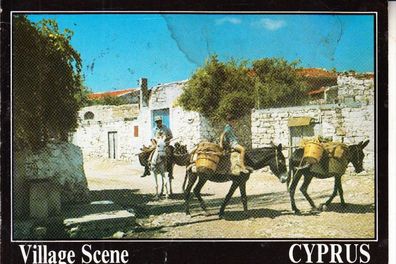 CYPRUS / ZYPERN, Village scene