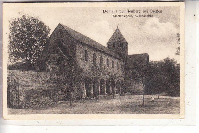 6300 GIESSEN, Dömäne Schiffenberg, 1924