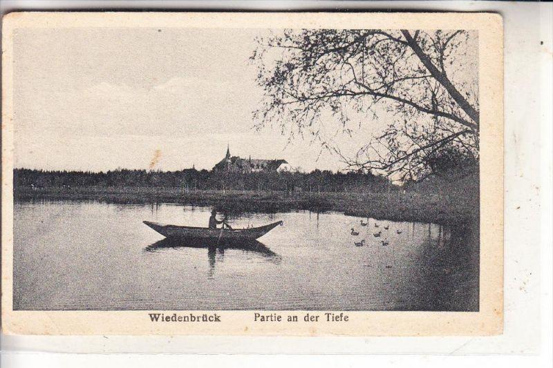 4840 RHEDA - WIEDENBRÜCK, Wiedenbrück, Partie an der Tiefe