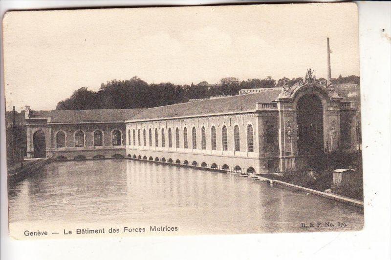 CH 1200 GENEVE / GENF GE, La Baliment des Forces Motrices, Wasserkraftwerk