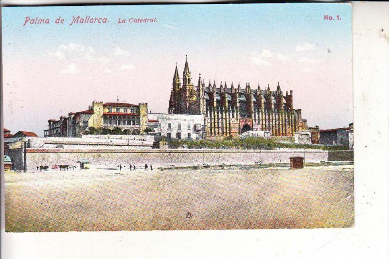 E 07000 PALMA DE MALLORCA - La Catedral