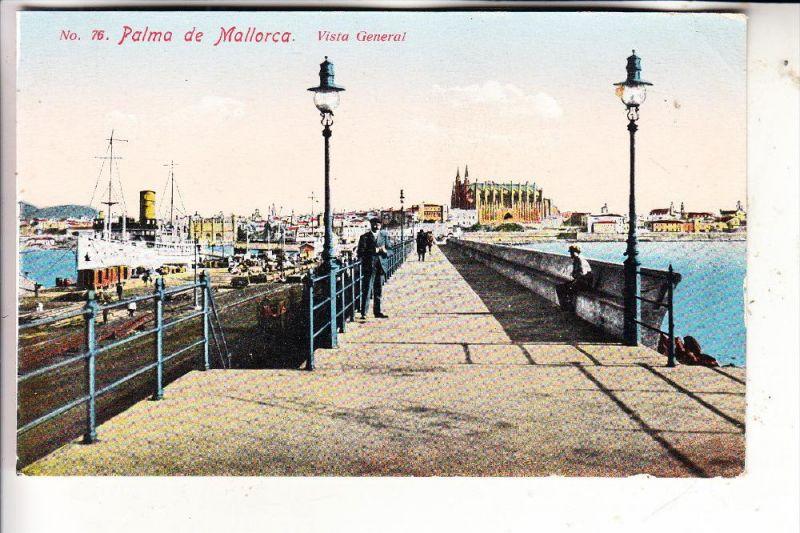 E 07000 PALMA DE MALLORCA - Vista general, Puerto