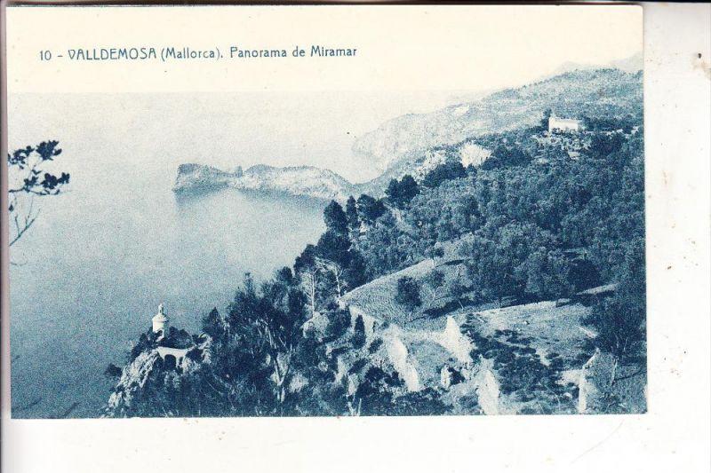 E 07170 VALLDEMOSA, Panorama de Miramar