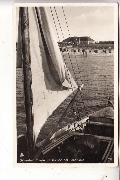 0-2383 PREROW/Darß, Blick von der Seebrücke