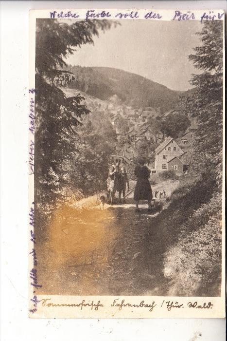 0-6113 MASSERBERG - FEHRENBACH, Ortsansicht, 1953