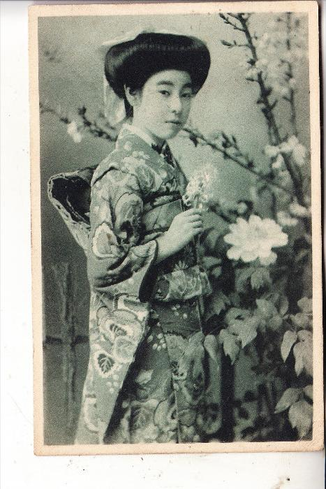 JAPAN / NIPPON, GEISHA, early card, undivided back