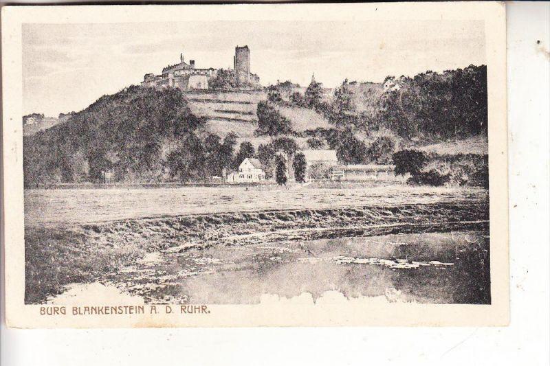 4320 HATTINGEN - BLANKENSTEIN, Burg